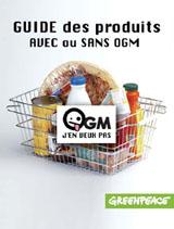Guide des produits avec ou sans OGM - 2008
